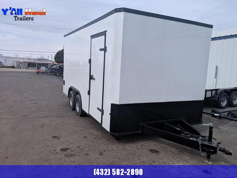 2019 Salvation 8.5x16 Blackout Trailer Enclosed Cargo Trailer