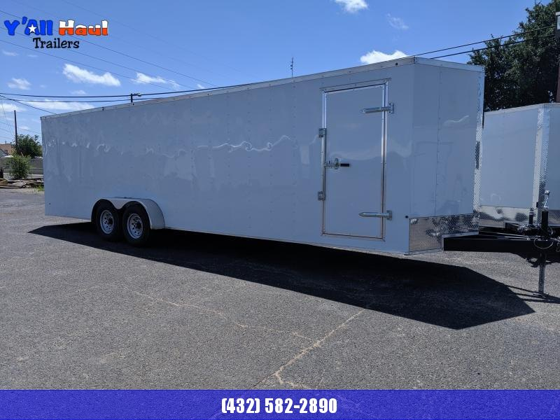 2019 Salvation Trailers 7x28 Enclosed Cargo Trailer