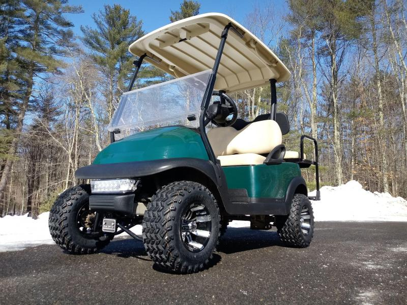 "Club Car Precedent Electric 4 pass GREEN cart 4"" LIFT KIT-NICE CAR"