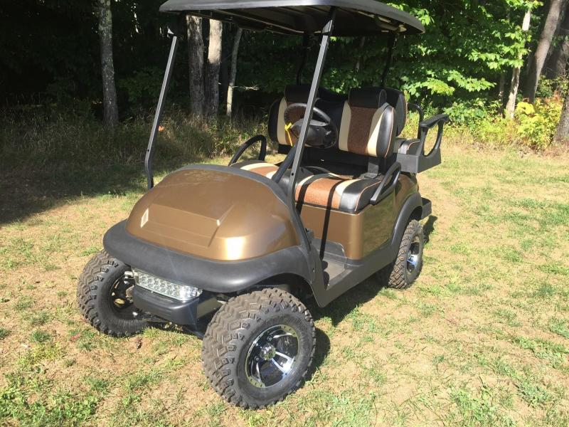 CUSTOM Metallic Bronze Club Car Precedent Electric Golf Cart