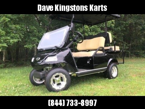 SAVE $1000 NEW Evolution 4 pass 22MPH  BLACK/BEIGE GOLF CAR