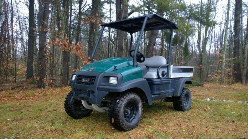 2013 Club Car Carryall Turf 295 AWD Utility Vehicle w/Elec Dump 675CC