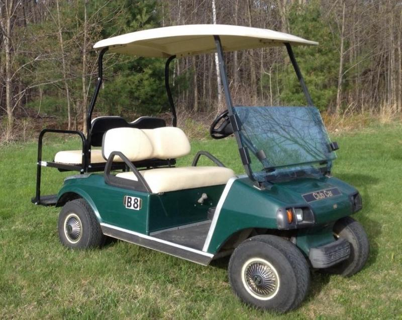 Club Car DS Electric 4 passenger golf cart