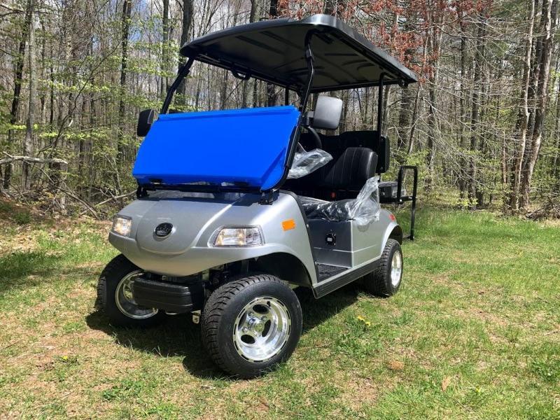 2019 Evolution STREET LEGAL 4 pass 25MPH golf cart SILVER 2yr warranty