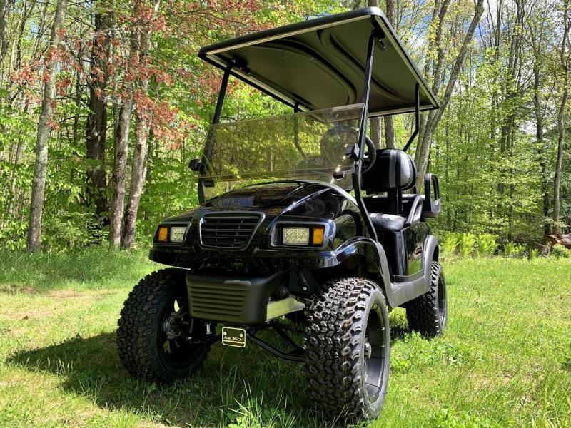 "Club Car Precedent Metallic Black Phantom Custom Golf Cart 6"" Lift Kit"