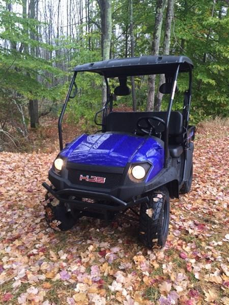 $120/m HJS BIG HORN 200 VX GAS POWER UTV WITH MANUAL DUMP