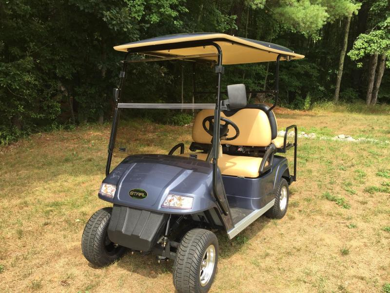 $145/m  2017 Star Classic 4 Pass Electric Golf Cart Gunmetal Blue 2 yr warranty