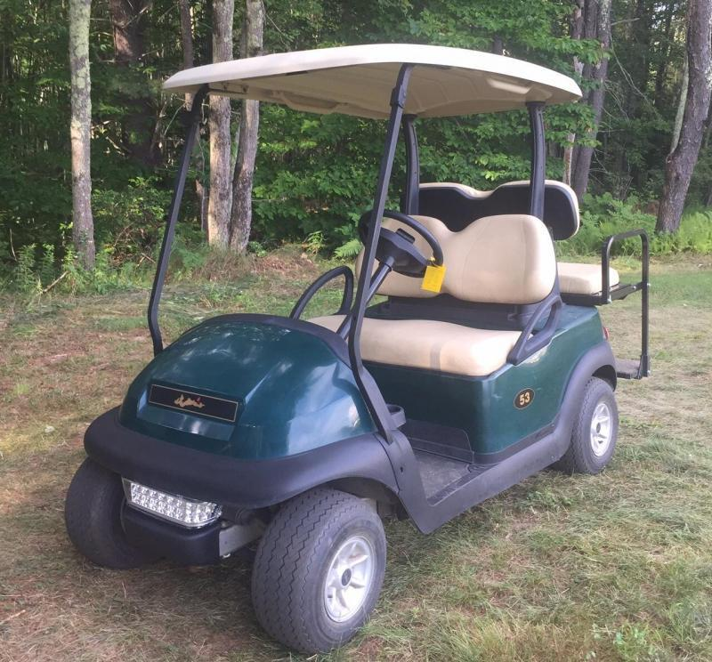 Clearance $2750 Club Car Precedent 4 Pass Golf Cart