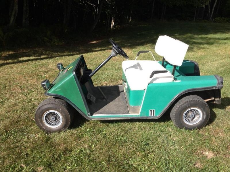 1985 E-Z-Go Marathon 36V Golf Cart