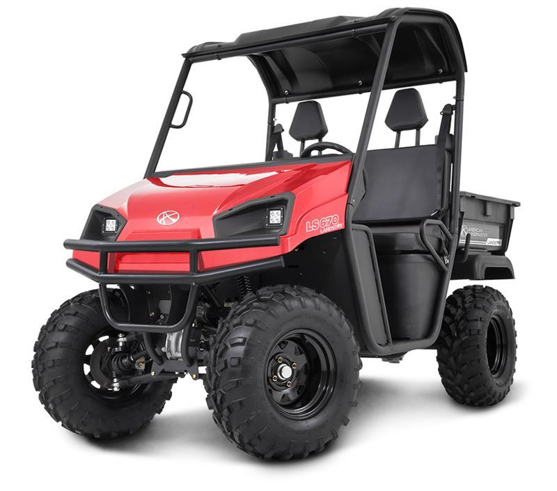 2018 American Land Master LandStar LS670 GAS POWERED / 4WD UTV