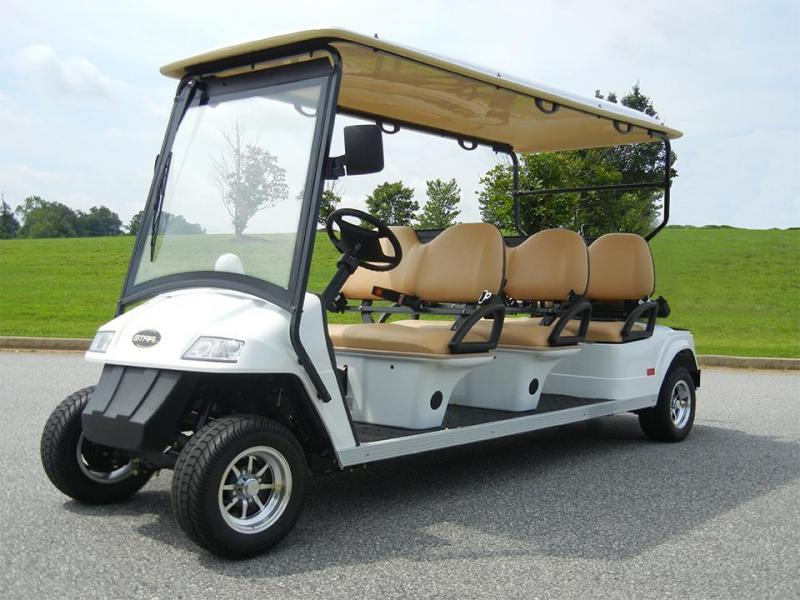 2017 Star Classic 6 Passenger LIMO (3 Forward Facing Seats) Golf Cart
