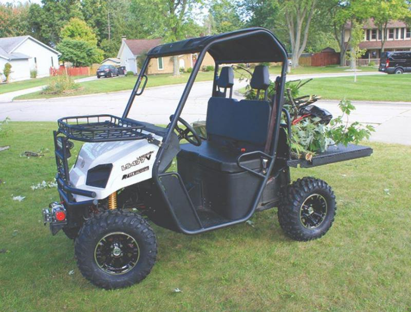 American Land Master LS477VFTX UTV made in USA 3 yr warranty