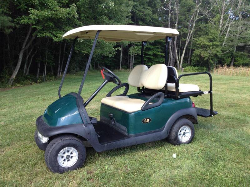 $144/m Winter Sale NEW 2017 Club Car Precedent EFI GAS 4 Pass Golf Cart  4 yr warranty