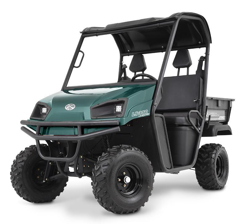 $1000 OFF! American Land Master 350DL GAS 2WD UTV w/Locking Diff-Green
