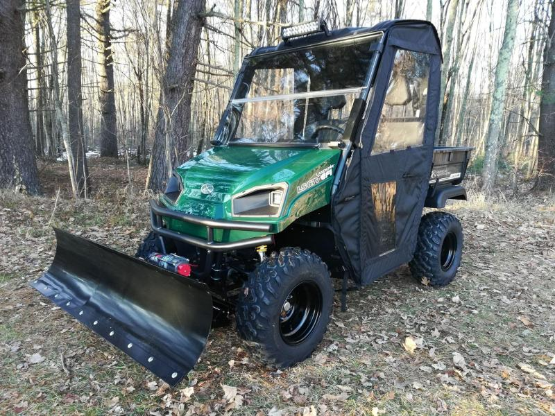 2018 American LandMaster LS677EFI 4WD UTV W/PLOW & ENCLOSURE AND MORE!