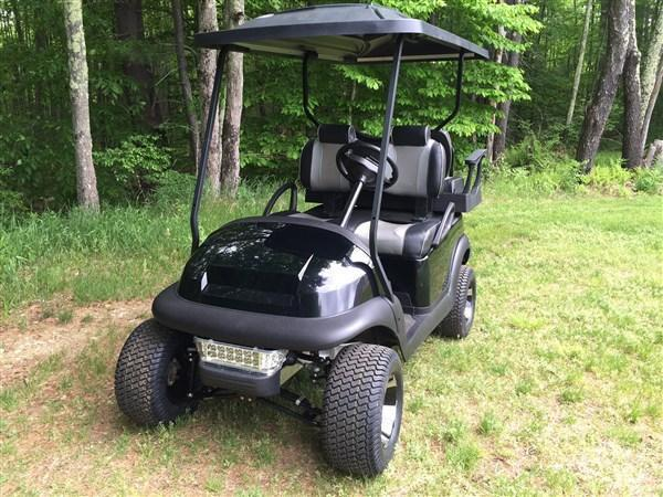 CUSTOMIZED Club Car Precedent 4 pass Elec Golf Cart