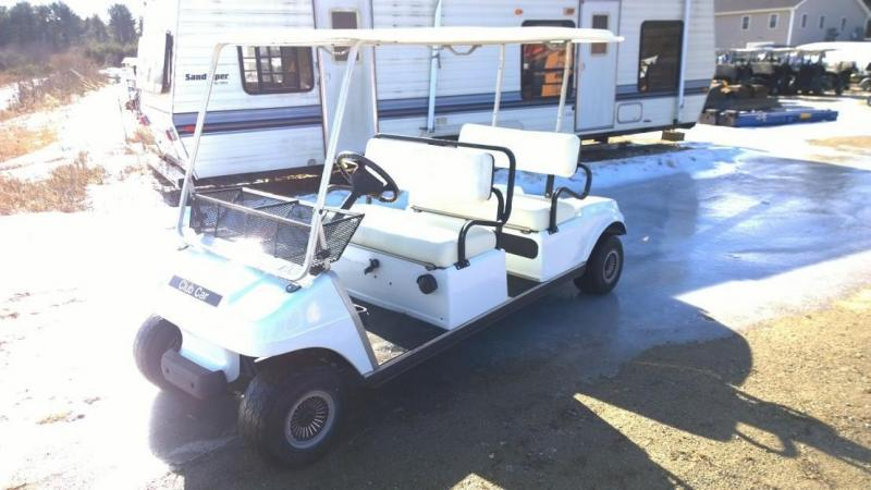 SPECIAL PRICE! Club Car 4 passenger GAS LIMO golf cart DS Villager