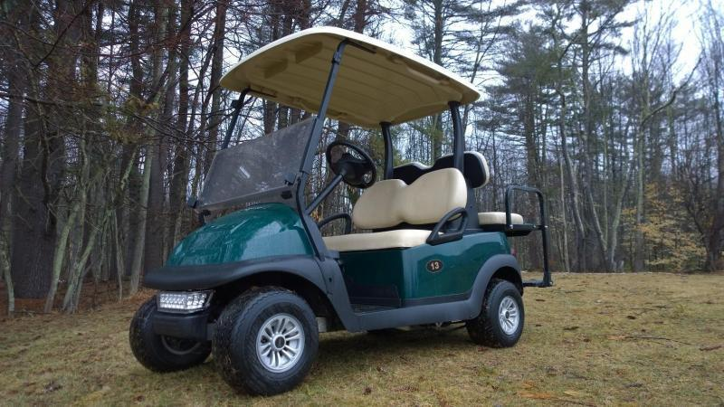 2013 Club Car Precedent 4 Pass Elect Golf Cart 2018 Batteries