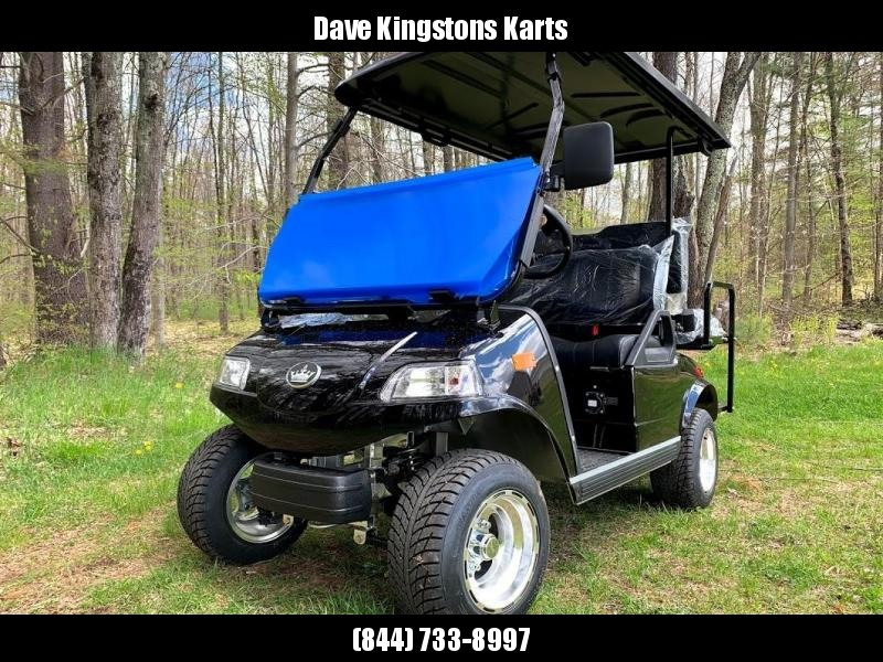 2019 Evolution STREET LEGAL 4 pass 25MPH golf cart BLACK 2yr warranty