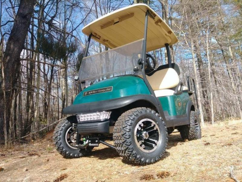 Club Car Precedent Electric 4 passenger golf cart LIFTED w/warranty