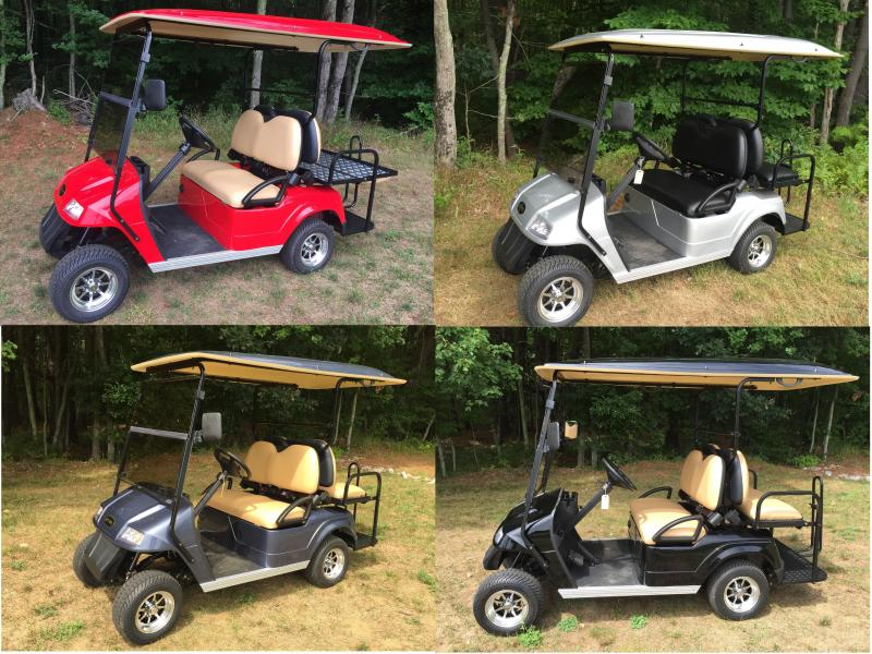 $145/MONTH 2017 Star Classic 48-2+2 Pass Golf Cart 2 year warranty