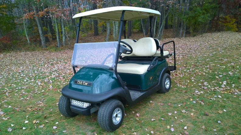 2016 Club Car Precedent 4 Passenger electric golf cart with lights