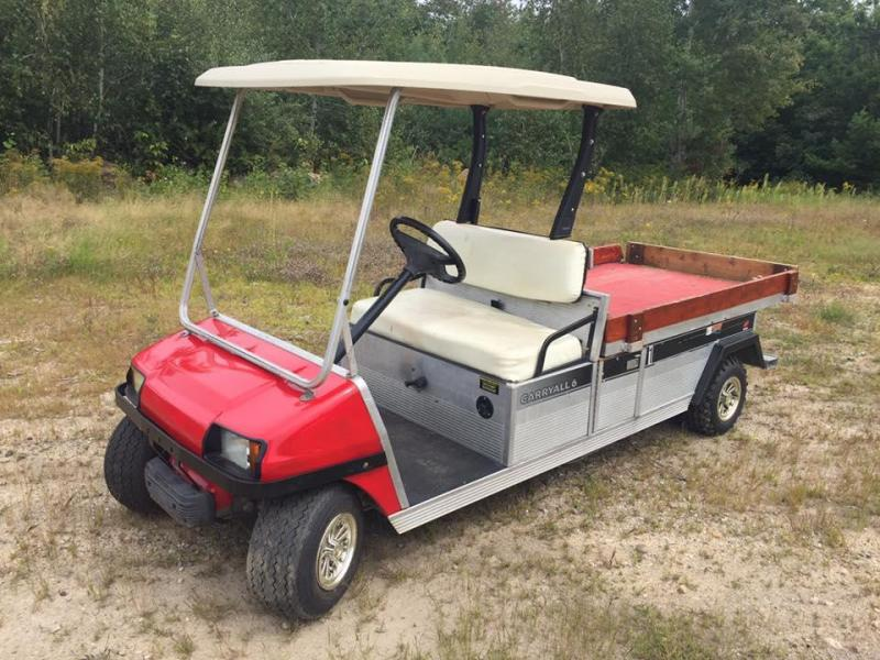 2005 Club Car Carryall/Turf 6 Gas Utility Side-by-Side (UTV)