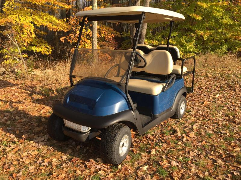 2014 Club Car Precedent BLUE GAS 4 Pass Golf Cart w/warranty