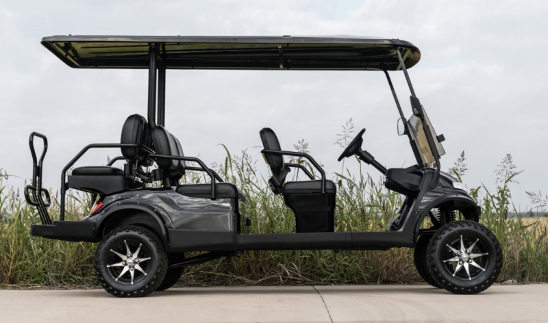 NEW Advanced EV 6 pass Golf Cart LIMO Lifted w/Toyota AC Drive