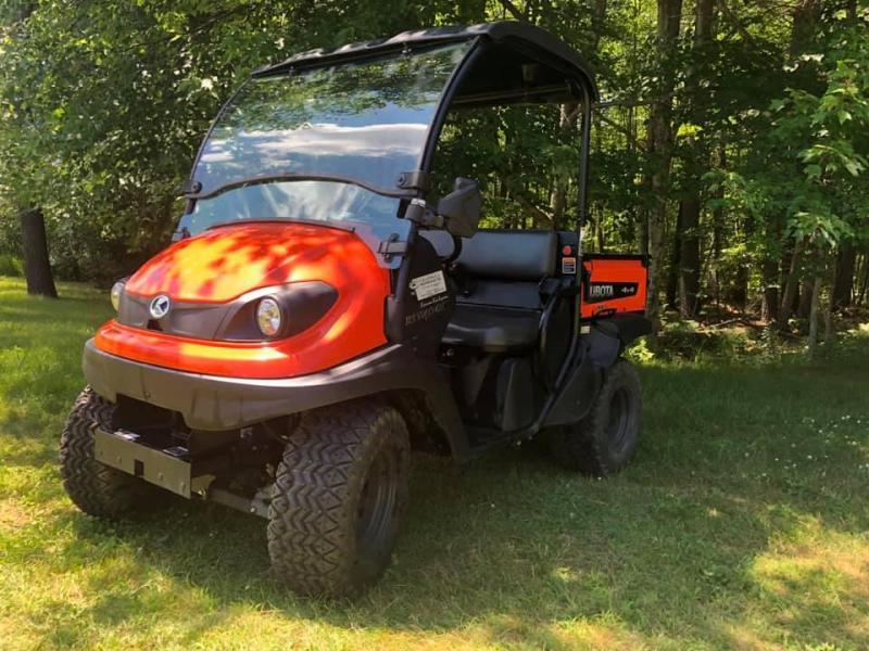 2018 Kubota RTV 400 CI 4x4 UTV with dump bed LOW HOURS