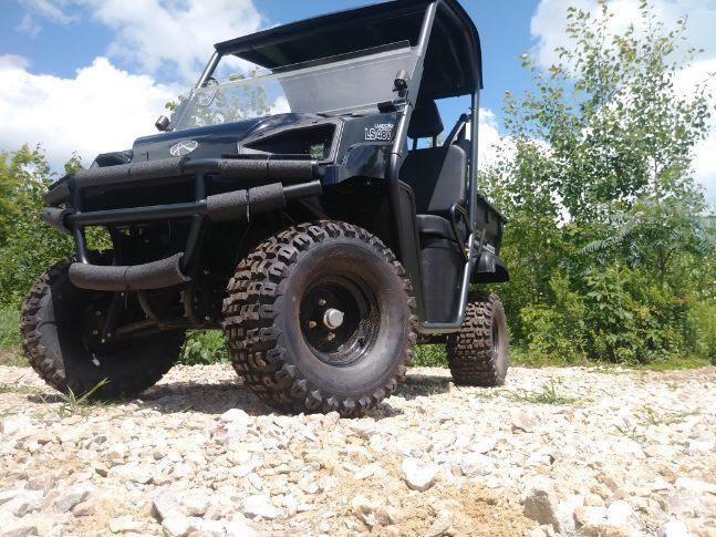 NEW American LandMaster 350DL GAS 2WD UTV w/Locking Differential BLACK