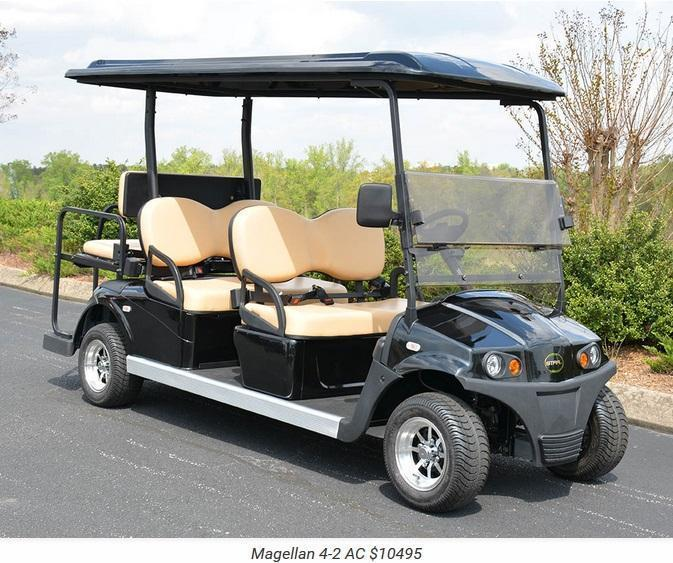 Star Magellan AC Power 6 Passenger Golf Cart LIMO