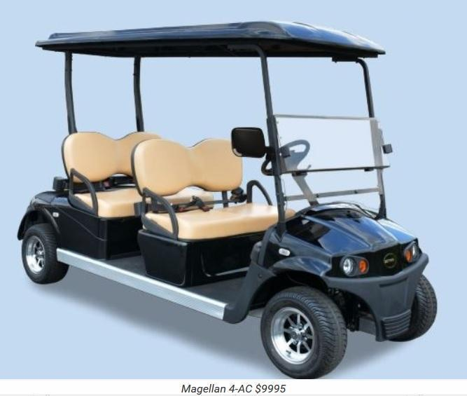 Star Magellan AC Power 4 Passenger Golf Cart LIMO