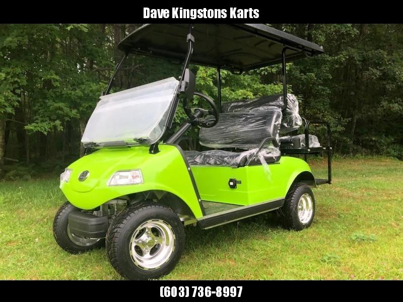 SAVE $1000 NEW Evolution 4 pass 22MPH NEON GREEN GOLF CAR