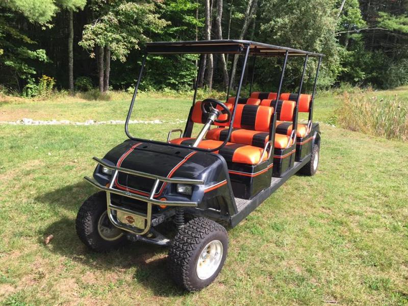 Yamaha 6 passenger GAS LIMO golf cart w/lift kit $3500