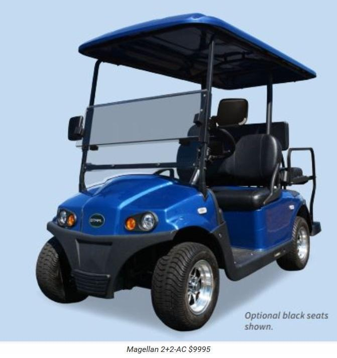 2017 Star Magellan AC Electric 4 passenger Golf Cart