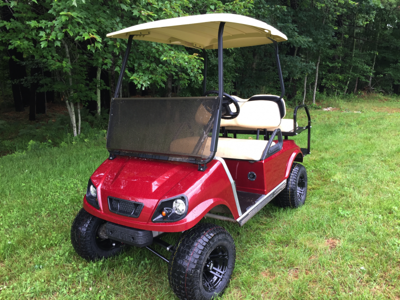 $166/m Club Car DS Custom Metallic Spartan Electric 4 pass golf cart