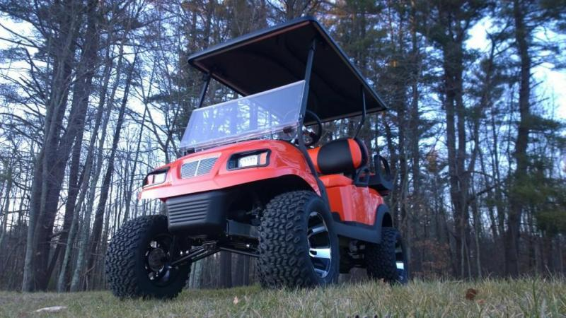 "Save $1000 CUSTOM Precedent Metallic Orange Phantom 4 pass 6"" Liftkit"