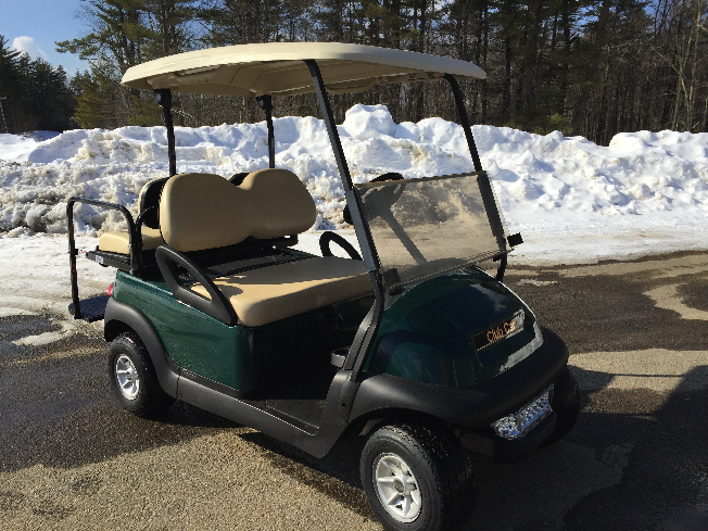 $2500 Winter Special Club Car Precedent 4 Pass Elec Golf Cart with lights