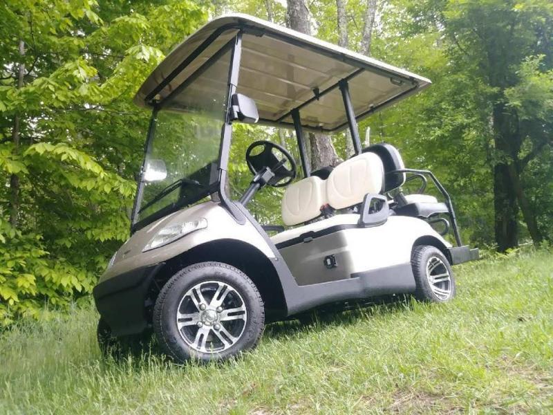 Street Legal Advanced EV 4 pass Pewter 25 MPH electric golf car