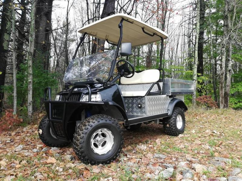 2019 Evolution ELECTRIC Turfman 700 LIFTED utility vehicle w/DUMP BED