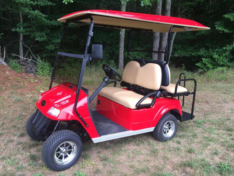 Star Classic 4 Pass Electric Golf Cart RED/BLACK/BLUE/SILVER