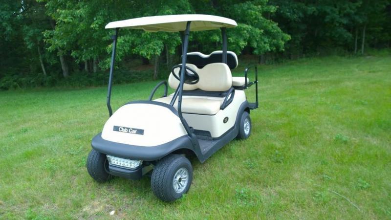 2014 Club Car Precedent 4 Pass Elect Golf Cart 2017 Batteries