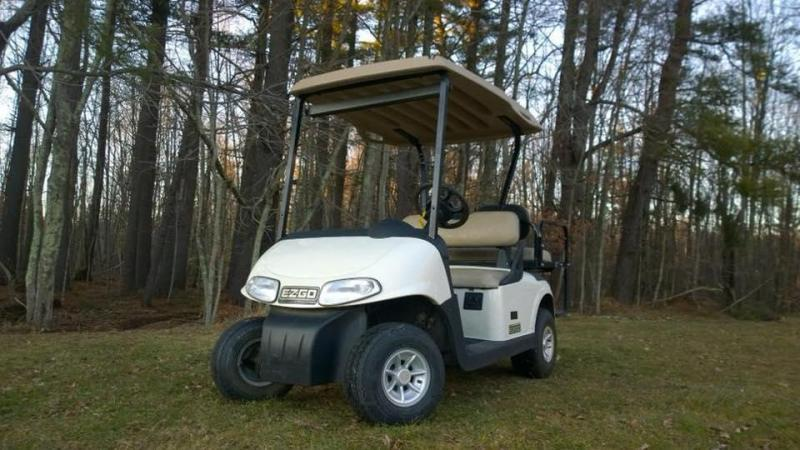2008 E-Z-GO EZ-GO RXV 4 pass electric Golf Cart