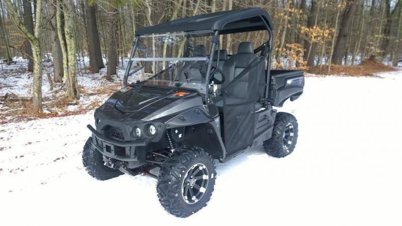 INTIMIDATOR CLASSIC XD4 750cc Side by Side UTV 4wd Black Metallic