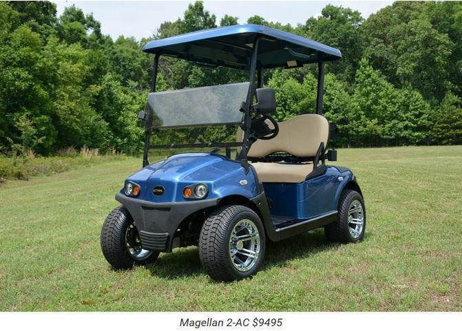 2017 Star Magellan AC Electric 2 Golf Cart