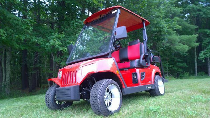 Tomberlin EMERGE E2 LE 4 pass Street Legal LSV Golf Cart