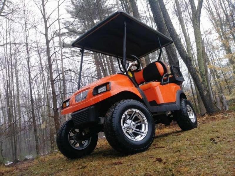 "Club Car Precedent Metallic Orange Phantom 4 pass 6"" Lift kit w/warranty"