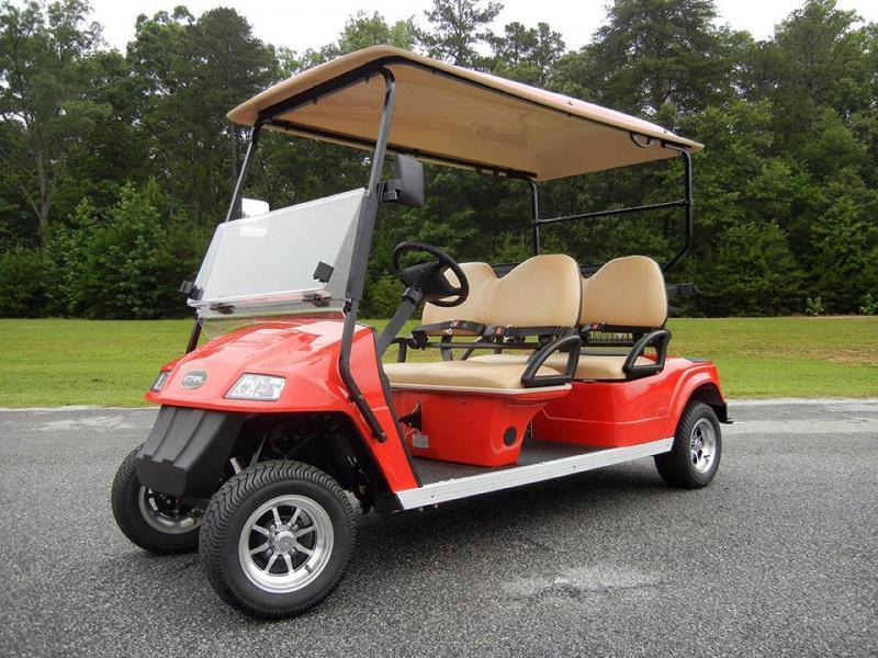 2017 Star Classic 4 Passenger LIMO Golf Cart