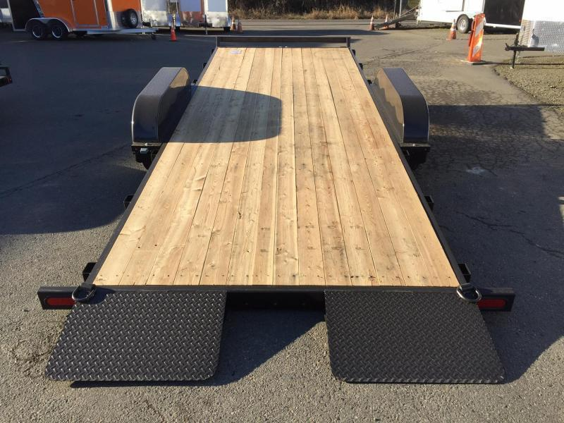 Summit C5TB718TA3-RF Flatbed Trailer